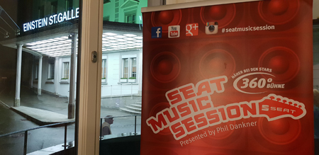 Seat Music Session im Congress Hotel Einstein in St. Gallen auf Kulturonline.ch